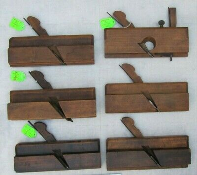 Lot of 6 Antique A. Mathieson and Son Glascow Wood Planes