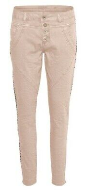 Bailey Twill Pants Ladies Stretch Jeans By 'Cream' Size:31 Boyfriend Relaxed Fit