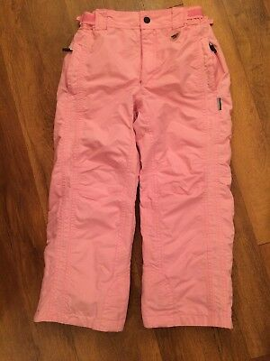 Girls/Teens Pale Pink Salopettes Childrens Ski Trousers By 'Brudi' Size:10 Small