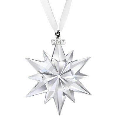 2017 NEW Swarovski LARGE Annual Edition Authentic Christmas Ornament 5257589