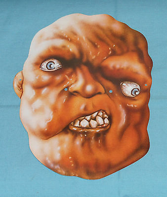 original promotional promo THE TOXIC AVENGER MASK Troma Team Lloyd Kaufman Toxie