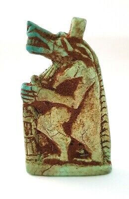 Taweret Amulet Ancient Egypt 600 Faience Egyptian Antique New Kingdom Figurines