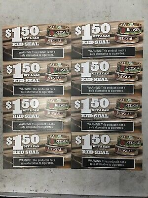$10.00 Worth of RED SEAL Coupons (expire 10-31 & 12-31-2019)
