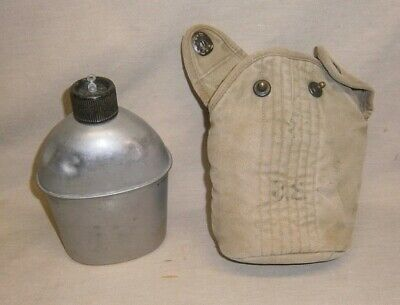 Vintage 1942 WWII US Army Canteen G & R Co