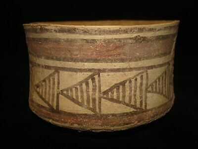 EBAY BEST! ANCIENT PAINTED BOWL JUG!~~FROM EARLY BRONZE AGE! 3000BC~~~no reserve