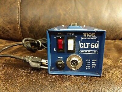 HIOS CLT-50 Power Supply for CL 60 100 3000 4000 6500 7000 Torque Screwdriver