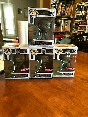 Funko Pop! Marvel 80 Years Patina 4 Pop Lot Target Exclusives