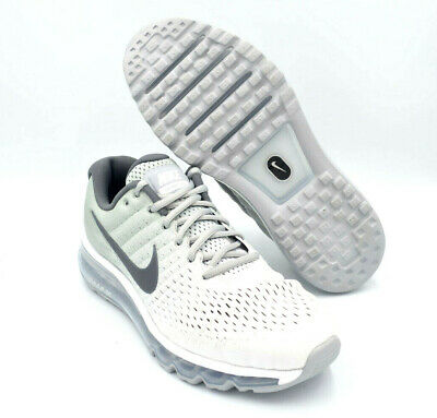 Nike Air Max 2017 Running Shoes White / Wolf Gray Mens [849559-101] Multi Size