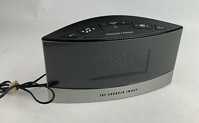 Sharper Image 20 Sound Soother EC-B100 Dual Alarm Clock With Power Supply