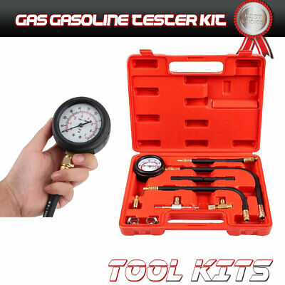 NEW 0-100PSI Fuel Injection Pressure Gauge Kit  Tool