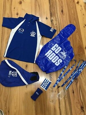 North Melbourne Kangaroos Official Members Merchandise X 8 Items Great Variety