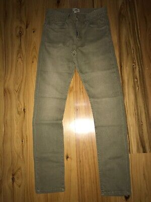 Jeans Skinny/Straight Stretch Just Jeans Brand Mens/Teen Size 28 Cinnamon Colour