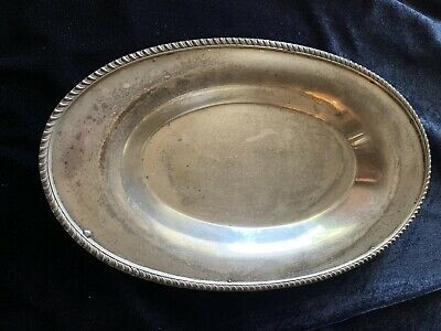 Poole Silver Co. Serving Tray