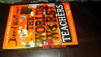 DAVID WALLIAM'S THE WORLD'S WORST TEACHERS  hardback edition