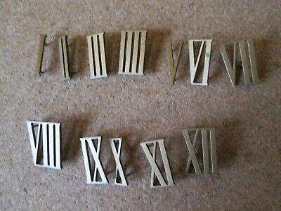 A Full Set Of Smiths Striking/Westminster Mantel Clock  Roman Numerals Pin On