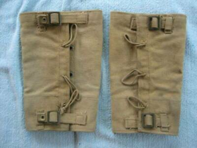 Ww2 Canadian 1942 Dated. Z L & T Ltd. Canvas Gaiters Leggings