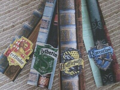 Harry Potter bookmarks x 4