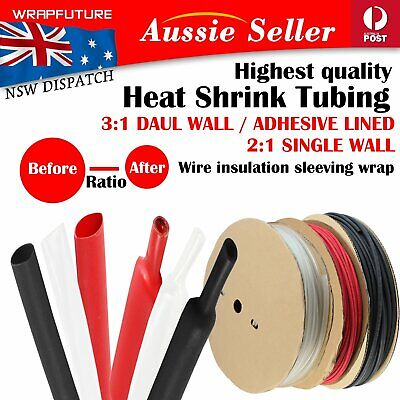 Heat Shrink Tube Adhesive High Resilience Cable Sleeve Wire Heatshrink Guarding