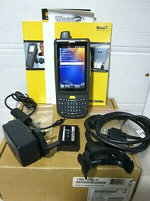 WASP HC1 Computer Barcode Scanner Data Collection Charger, 2 batteries, boxed
