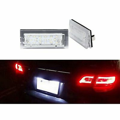 Eclairage Plaque Led Bmw Serie 5 E39 Touring 01/1997 A 05/2004 Blanc