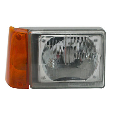 Phare Avant Fiat Panda 3/1986-7/2004 R2 H4 Passager Orange Reglage Elec Droit