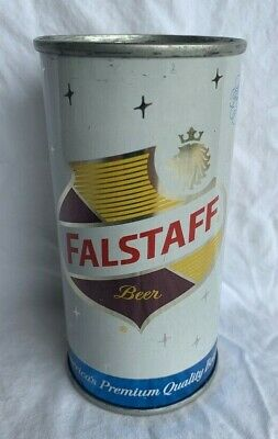 "FALSTAFF ""New Orleans"" BEER - RARE 10 Ounce FLAT - Bottom Opened!!!"