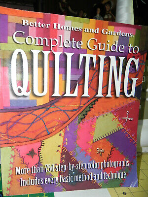 Better Homes and Gardens: Complete Guide to Quilting 2002