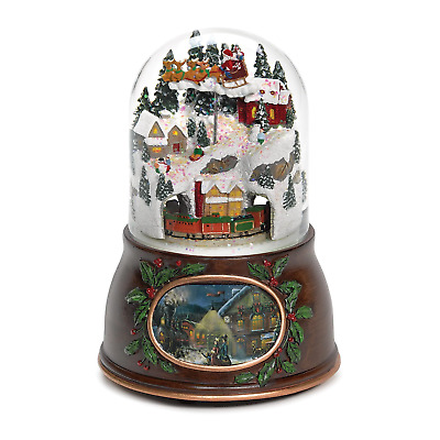 Snowy Village Christmas Snow Globe