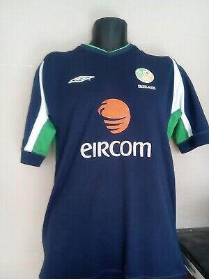 Ireland Eire Training Shirt 2000S Adult Large / Xl In Fair Condition