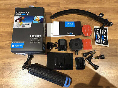 GoPro Hero Session Camcorder - Black And Accessories Bundle