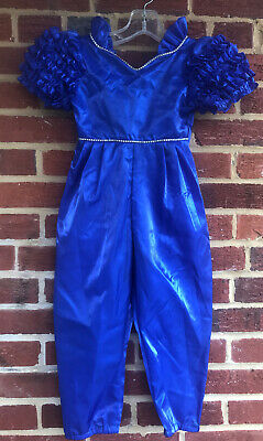 Pizazz Vintage Childs Sz 4 Pageant jumpsuit/outfit Made In USA
