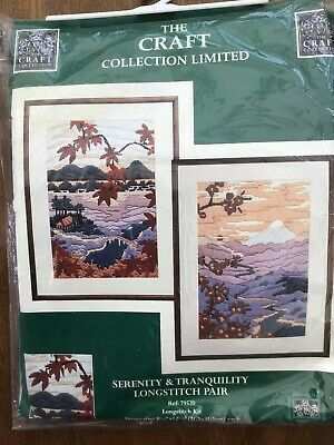 Serenity and Tranquillity Longstitch Kits