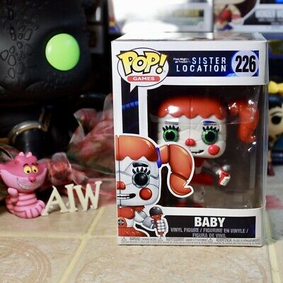 Funko Pop! Games: Five Nights At Freddy's FNAF: Baby #226 New & Protector