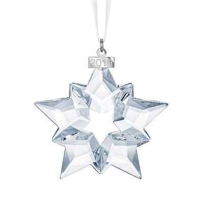 Swarovski Crystal Annual Edition Ornament 2019, White, Model 5427990,