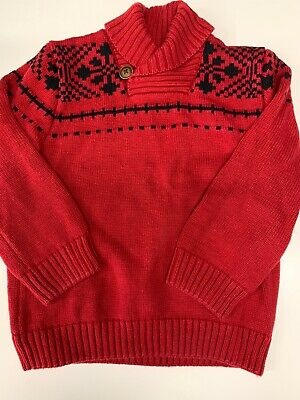 Boys 3T Gymboree Red Sweater