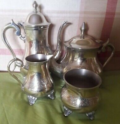 Vintage silver plated EPNS tea & coffee service - 4 piece