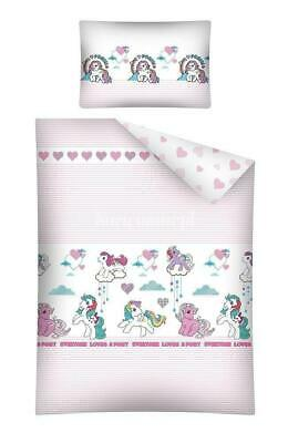 Little Pony bedding  set 100X135 ( cot bed )