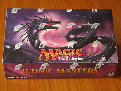 MTG ICONIC MASTERS Factory Sealed BOOSTER BOX 24 Pack New Magic The Gathering