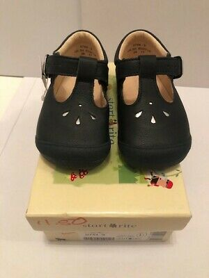 Girls Startrite T-Bar Shoes /'First Evy/'