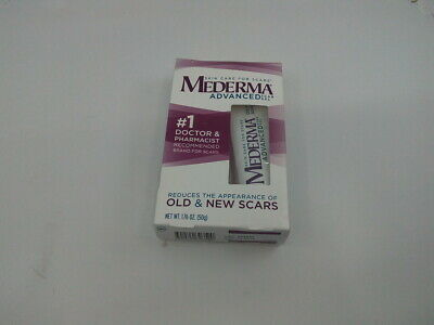 Mederma Advanced Scar Gel - 1x Daily - Reduces the Appearance of Old & New Sc...