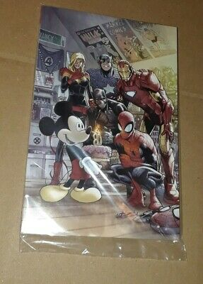 Disney D23 Expo 2019 Exclusive Marvel 80th 1000 Ramos Variant Cover SpiderMan
