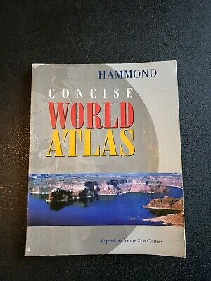 Atlas: Hammond Concise World Atlas : Mapmakers for the 21st Century by Hammond …