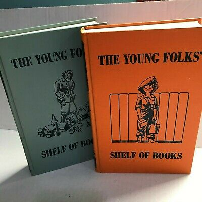 Young Folks Shelf of Books Series Junior Classics Vol 5 and 6 Stories Boys Girls