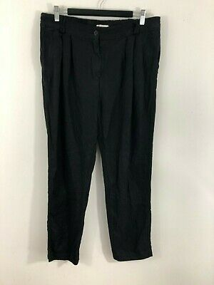 Country Road Womens Pants Size 12 Black Casual Cargo