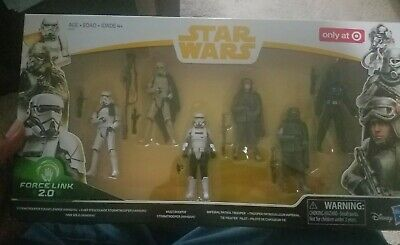 Star Wars Force Link 2.0 Solo Mimban Stormtrooper 6 pack