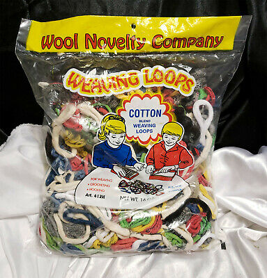 New Sealed Wool Novelty Company Cotton Weaving Loops - 412H - 16Oz