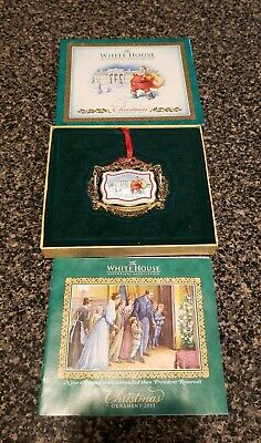 2011 The White House Historical Association Christmas Ornament NEW