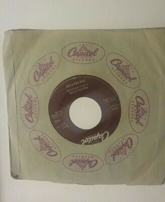 THE BEATLES Hey Jude REVOLUTION John Lennon Capitol 45 Vinyl NM