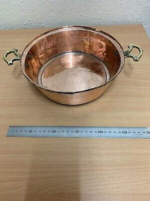 Vintage Heavy Copper Dish/Bowl/Pan Arts And Crafts Antique 620 Grams Polished