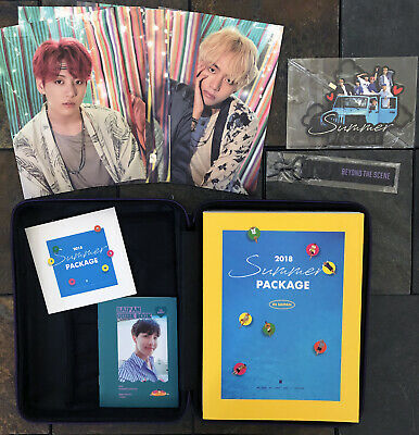 OFFICIAL BTS 2018 Summer Package in SAIPAN w/ JHOPE J-hope Guide Book US seller